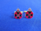 KING'S ROYAL RIFLE CORPS ( KRRC ) CUFF LINKS